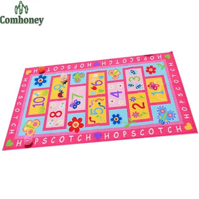 Pink Rug 150 80cm Boys S Carpet Tatami Children Rugs Baby Nursery Bedroom Play