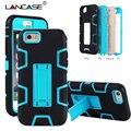 Para iphone 4s case capa híbrido armadura de silicone suave pc hard case para o iphone 4s 5s 5 6 6 s além de titular stand case à prova de choque Coque