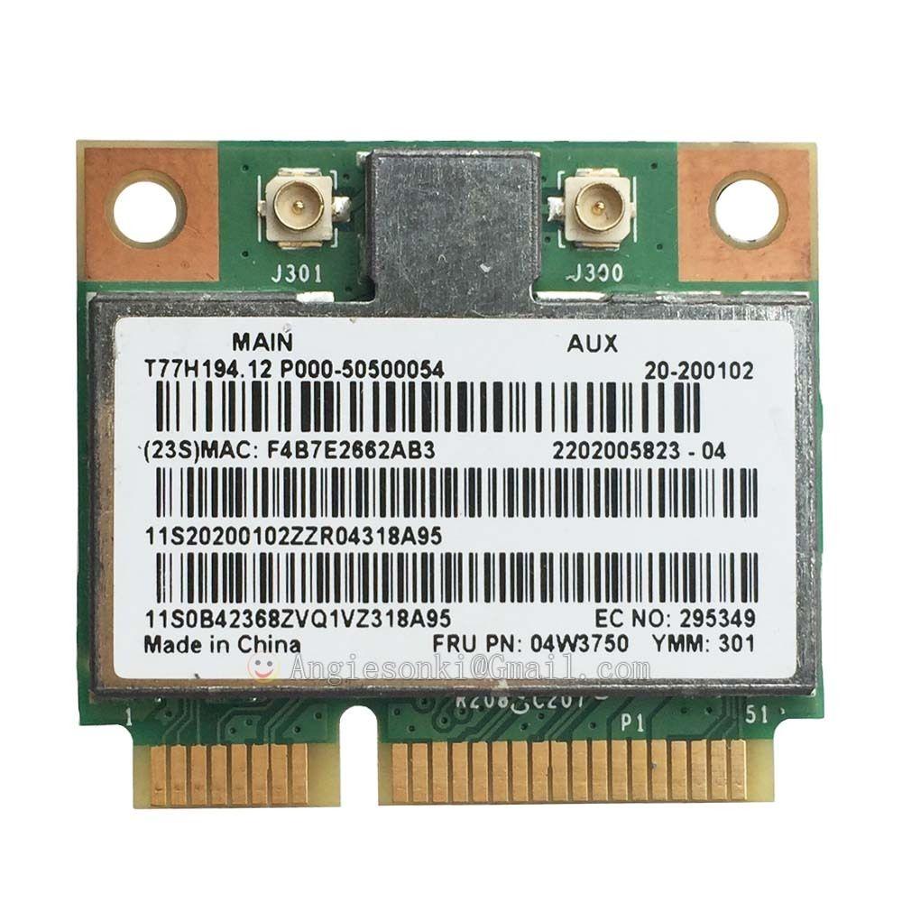 BCM94313HMG2L FRU:04W3750 Mini PCI-e 802.11 B/g/n Wireless WIFI Board Card For Lenovo B490 B490S B590 B590S B575E G400 G500 S400