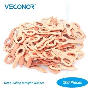 Image 1 - 100PCS Dent Tirare Dritto Rondella Per Spot Saldatore Pannello Tirando Washer Spot di Saldatura di Consumo Della Macchina