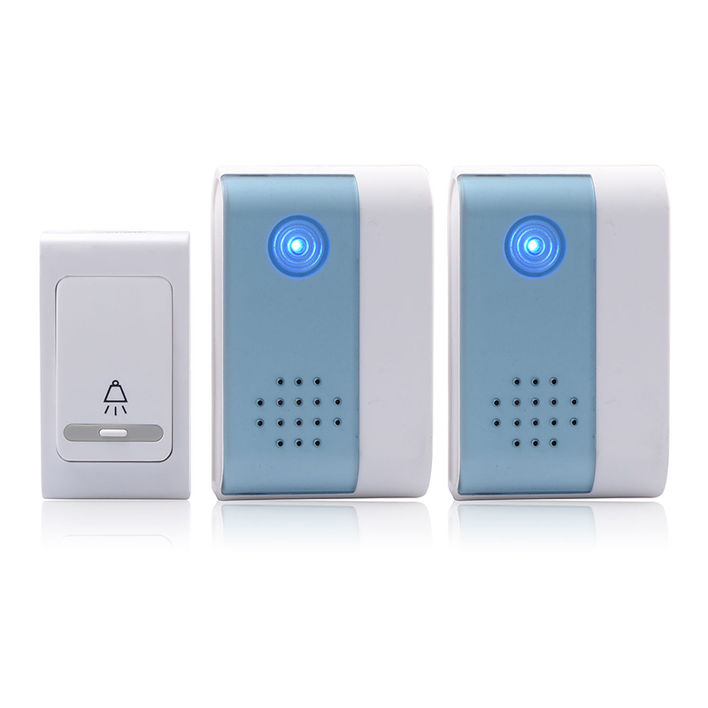 V004B2 38 Tune Melody Digital Receiver Doorbell 1 Remote Control 2 Wireless Door Bell LCC77 водонагреватель накопительный zanussi zwh s 10 melody u 10л 1 5квт бело зеленый