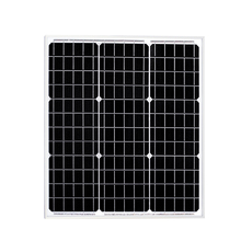 BOGUANG 40Watt solar panel monocrystalline portable Efficiency solar charger battery PV module mono cell 12v system China 18V