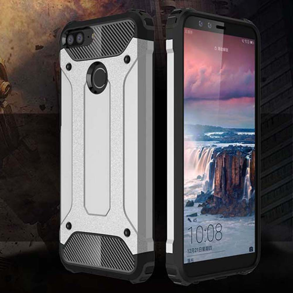 Shockproof Armor Coque Cover 5.84For Huawei Honor 9N Case For Huawei Honor 9N Phone Back Coque Cover Case