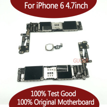 Для iPhone 6 протестированная Хорошая рабочая оригинальная Заводская разблокированная материнская плата для iPhone 6 материнская плата с сенсорным ID