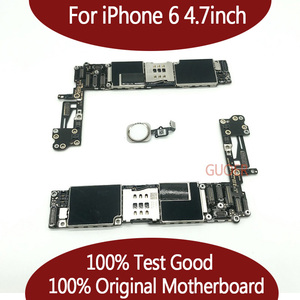 Image 1 - For iPhone 6  Tested Good Working Original Factory Unlocked  Motherboard for iPhone 6 logic board mainboard With Touch ID