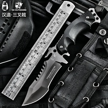 HX AIRE LIBRE tolerancia cero sable táctico cuchillo fijo cuchillo Que Acampa Caza herramientas de supervivencia cuchillo plegable del acero frío Karambit