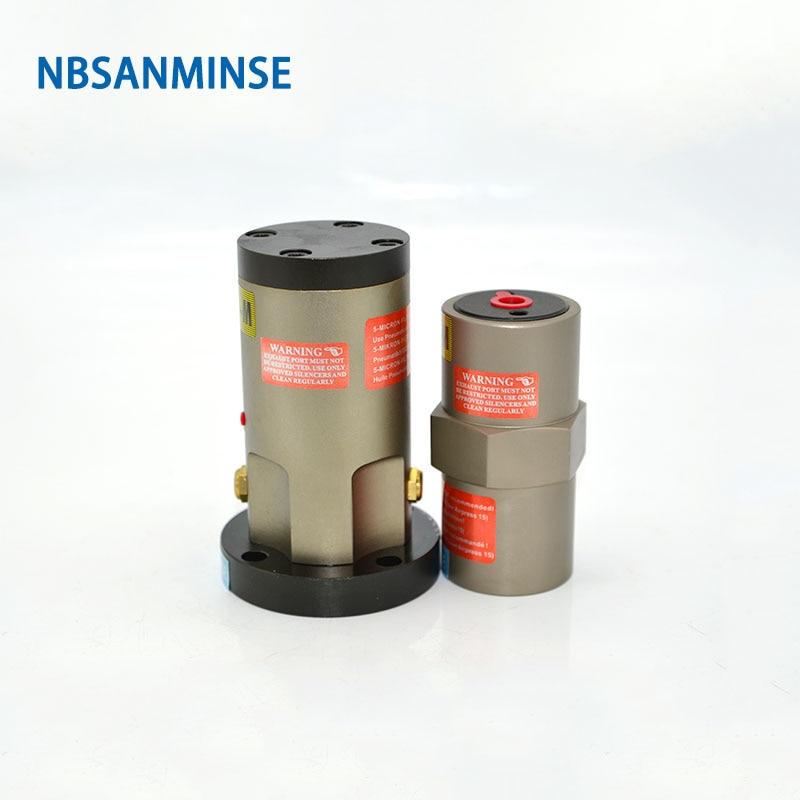 NBSANMINSE Pneumatic Piston Vibrators FP 60 M  Amplitude Adjustable Air Operated Vibrator selected material Food Feeder