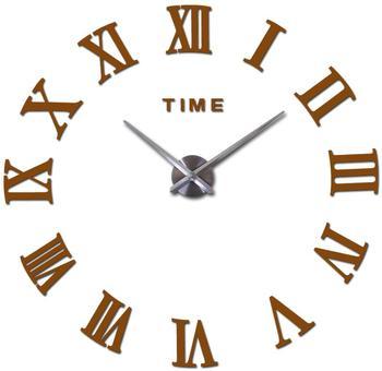 special offer 3d big acrylic mirror wall clock diy quartz watch still life clocks modern home decoration living room stickers 14
