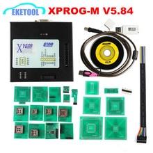 XPROG V5.70 V5.74 V5.84 USB Dongle с полной Адаптеры XPROG-M 5,70 лучше, чем XPROG V5.60/V5.55/V5.0 X prog металлическая коробка
