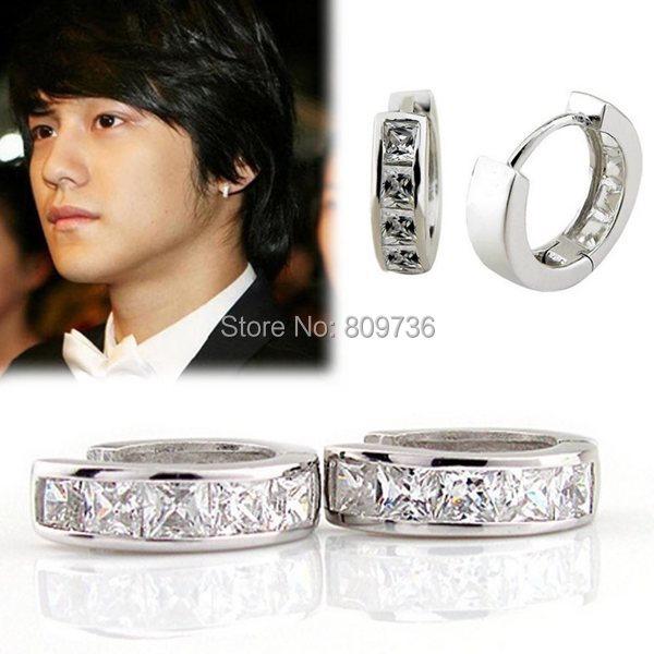 Hoop Earring Women Men Fashion Huggie Earrings Jewelry Gift Drop Free Je06247 1 Jpg