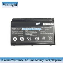Оригинальный литий ионный аккумулятор для ноутбука CLEVO W370BAT 8 6 87 W370S 4271 6 87 W37SS 427 K590S, Аккумулятор для ноутбука 14,8 в, 5200 мАч, Вт/ч