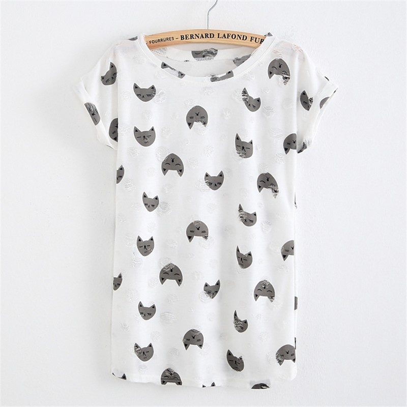 HTB1.ebGKpXXXXXeXVXXq6xXFXXXf - Tassel Design Hole T-shirt Print Frayed Hole T Shirts