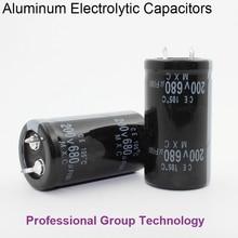 20pcs EB333 Good quality 200v 680uf Radial DIP Aluminum Electrolytic Capacitors 200v680uf Tolerance 20% size 22x40MM