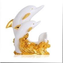European modern wine rack furnishing articles ornaments present household items dolphins wine rack barware