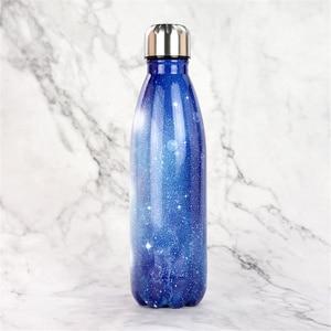Image 5 - מותאם אישית 24 צבעים BPA משלוח מים בקבוק קפה תרמוס בקבוק נירוסטה בירה תה שייקר נייד נסיעות ספורט מבודד גביע