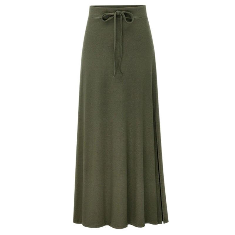 Plus Size Knitting Flare Skirts Women's Skirts