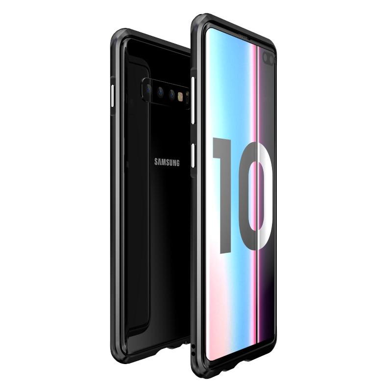 Aluminum Metal Bumper Case Sfor Samsung Galaxy S10 Slim Shockproof Phone Frame Armor Sfor Samsung S10 Plus Case S10plus S 10