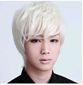 Han Edition Fashion Wig Rice White Hair Cosplay Anime Series Show