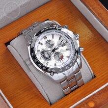 Nueva curren de la marca de lujo de cuarzo analógico reloj de los hombres relojes de las mujeres de los hombres relojes de pulsera de acero inoxidable negro completo negro regalos 832