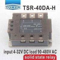 40DA TSR 40DA H Three Phase High Voltage Type SSR Input 4 32V DC Load 90