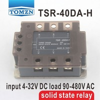 40DA TSR 40DA H Three Phase High Voltage Type SSR Input 4 32V DC Load 90