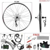 YOSE POWER DIY ebike kit 36 V 350 W 27,5 ''Кассетный задний бесщеточный электродвигатель с регулируемой мощностью для электрического велосипеда E велосипед