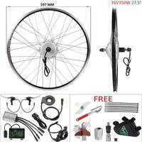 YOSE POWER DIY ebike kit 36V 350W 27.5'' Cassette Rear Wheel Brushless Geared Hub Motor for Electric Bike E bike Conversion Kit