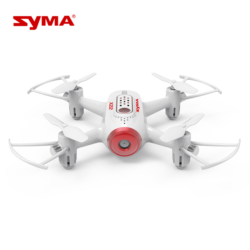 цена Mini RC Quadcopter Drone Syma X22 6-Axis Gyro Remote Control Nano Drone for Kids Beginners Headless Mode 3D Flip Helicopter