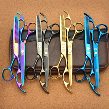 "2Pcs 6"" 17.5cm Japan Kasho Professional Hair Scissors Hairdressing Cutting Shears + Thinning Scissors Hair Styling Tools H1005"