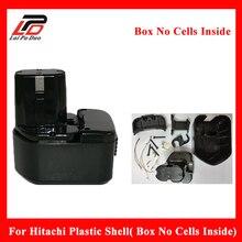 Перезаряжаемые Батарея чехол для Hitachi 12 В EB1212S Ni-MH NI-CD Пластик Shell (коробка без клетки внутри) EB1214L EB1214S EB1222HL