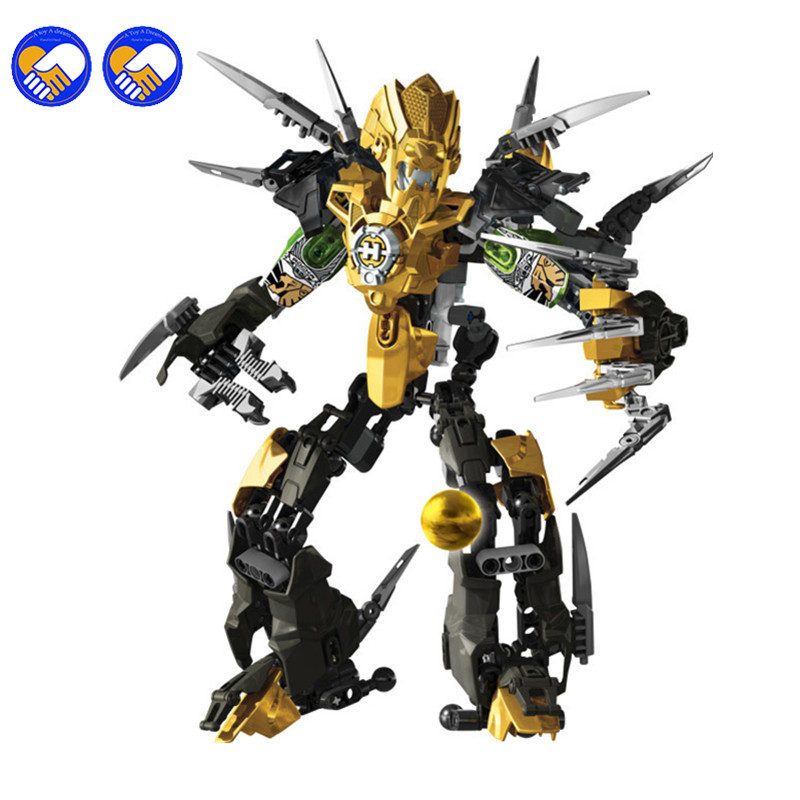 A toy A dream 177pcs DECOOL 9688 Hero Factory 3.0 Stars Wars ROCKA XL Robot building blocks sets toys kids bricks a toy a dream 2017 new free shipping decool 3331 large 805pcs exploiture crane model enlighten plastic building blocks sets