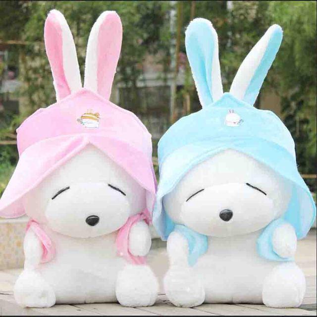 Satu mashimaro kelinci mainan mewah boneka boneka lucu dua warna untuk  pilihan 2dedcee4b3