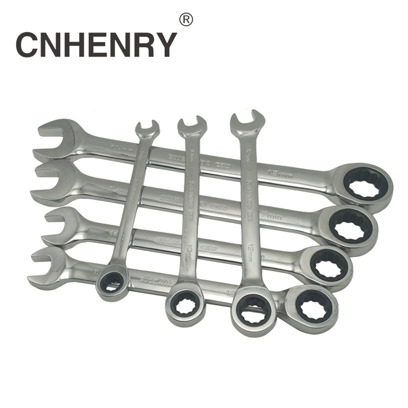8-32mm Combination Ratchet Wrench with Keys Gear Ring Wrench Car Auto Repair Hand Tool wrench