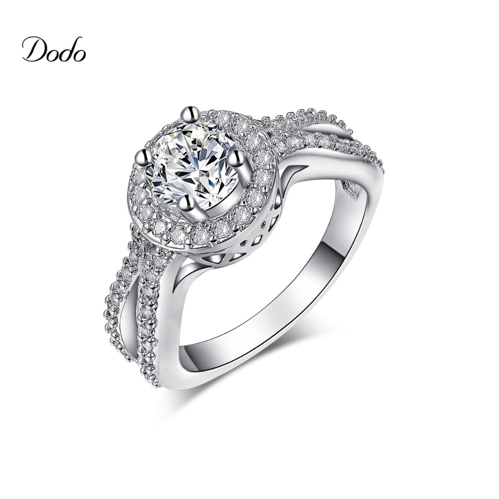 Silver Color Jewelry Infinity Wedding Band Engagement Rings For Women  Vintage Female Ring Accessories Finger Ring
