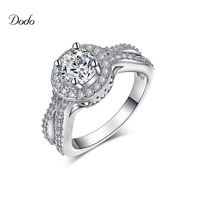 Zilveren kleur sieraden Infinity wedding band verlovingsringen voor vrouwen vintage vrouwelijke ring Accessoires vinger ring argent DR161