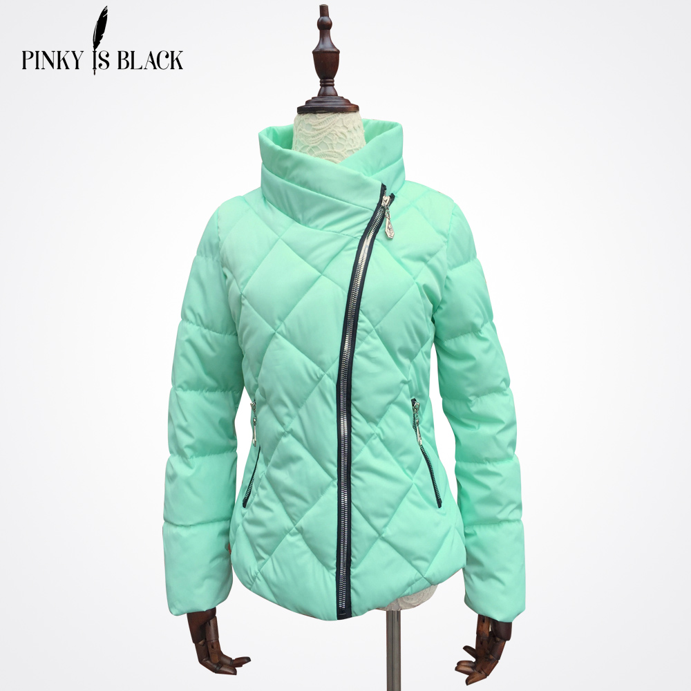 ФОТО 2017 spring and winter jacket women down cotton-padded jacket parka female wadded jacket short slim women winter coat outerwear