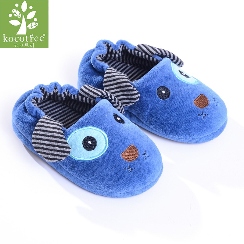 Kocotree High-quality Warm Soft Indoor Fashion Brand Foor Slippers For Boy Girls Kids Cartoon Shoes Children Winter Slippers