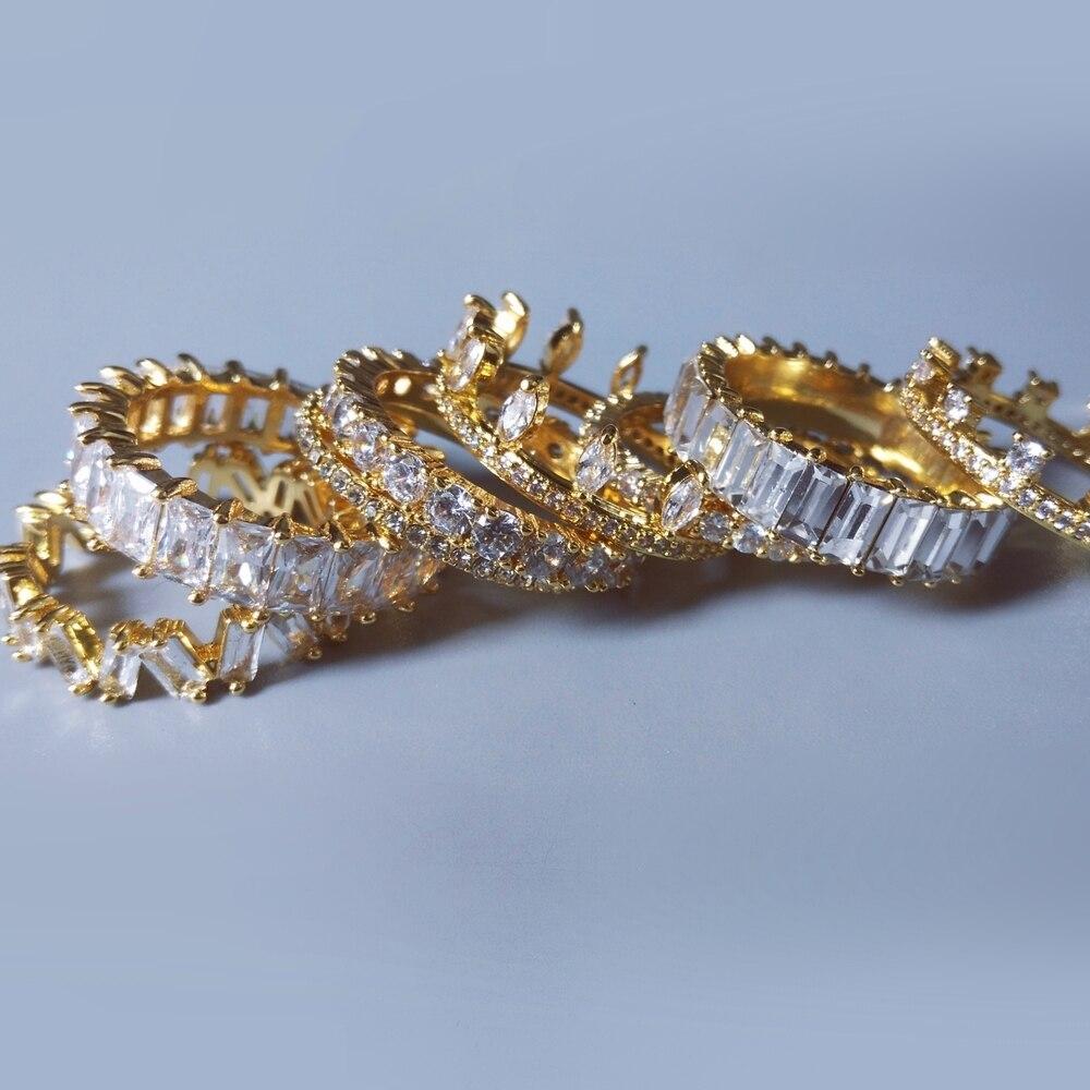 14 видов стилей вечная палец кольцо циркона ААА CZ заниматься Для мужчин t обручальное кольцо кольца для мужчин и женщин Для мужчин bijoux (украше...