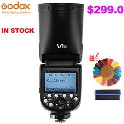 Godox V1 76W Round Head Speedlite Flash Light V1C V1N V1S TTL 1/8000s HSS 2600mAh Lithium Battery for Sony Canon Nikon Camera