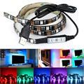 2017 New 5050SMD 5V Bias Lighting for HDTV USB Power TV Backlighting RGB 27 Led Strip Light
