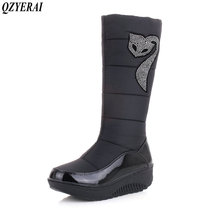 Фотография QZYERAI Winter fashion hot selling warmth snow boots women boots suitable for -40 winter very warm