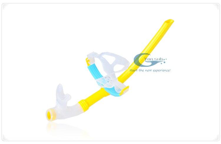 Venta al por mayor de adultos de buena calidad Snorkel amarillo - Deportes acuáticos - foto 3