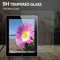 9 h vidro temperado protetor de tela de vidro para ipad 2/3/4 película protetora para o ipad 4-vidro à prova de explosão para apple ipad 2
