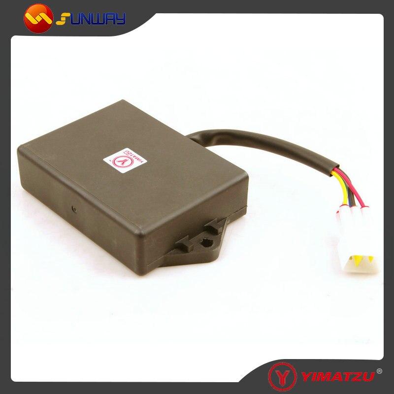 YIMATZU ATV Quad Parts Digital CDI 5pins plug for Jianshe JS400 400CC ATV Free Shipping