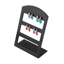 24 Holes Plastic Earring Show Countertop Display Rack Stand Organizer Holder Jewelry Packaging & Displays(China)