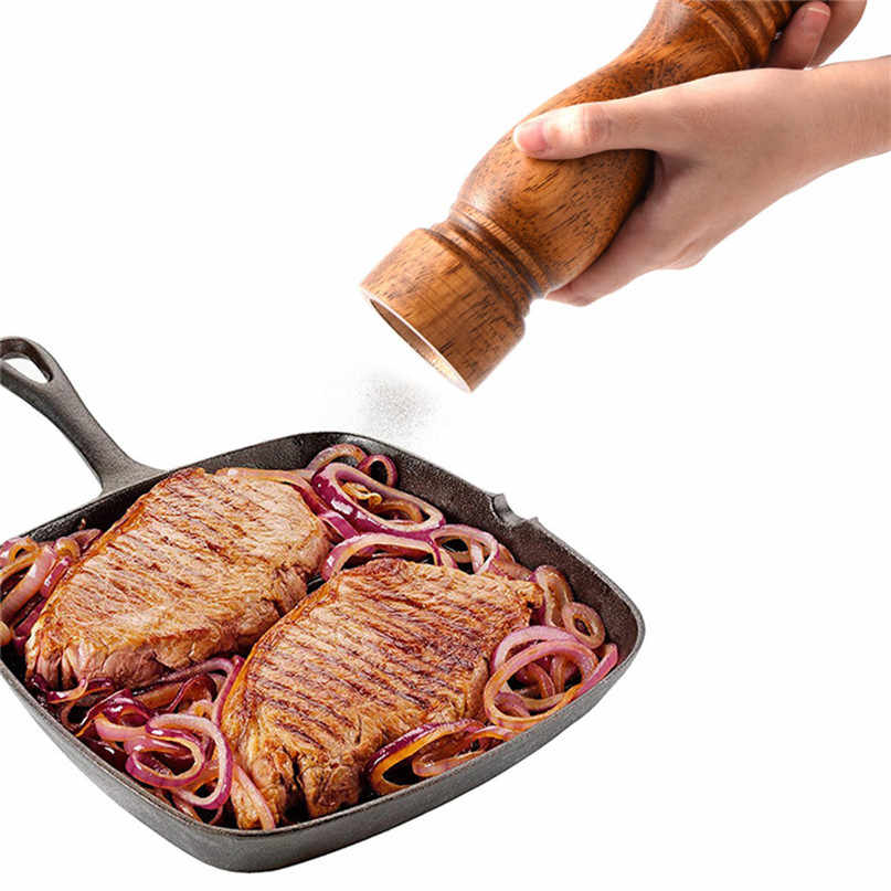 Кухонные инструменты ручная соль и перцемолка мельница для перца дробилка для солода зерновая мельница Регулируемый Керамический шлифовальный Pimentero