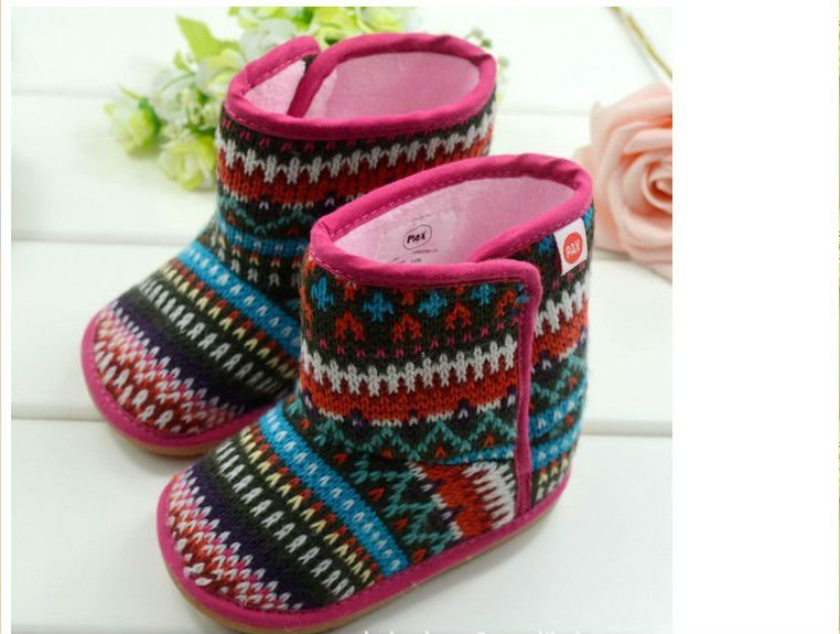girls children first walker boot shoes fit 0 1yr baby kids toddel ...