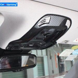 Image 1 - Для Alfa Romeo Giulia Stelvio обновленная интерьерная лампа для чтения лампа для украшения крыши Крышка переключатель рамка наклейка Стайлинг автомобиля
