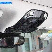 Lampe de lecture intérieure pour Alfa Romeo Giulia, avec mise à niveau Stelvio, couvercle de décoration pour éclairage de toit, interrupteur avec cadre, autocollant, design de voiture
