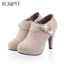 LANYUXUAN 2018 Women Shoes Big Size Sale 34-43 Apricot New